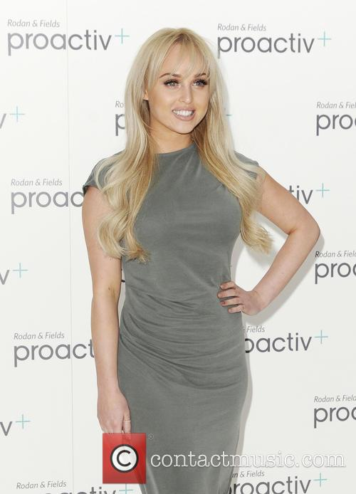 Jorgie Porter promotes her New ProActiv product