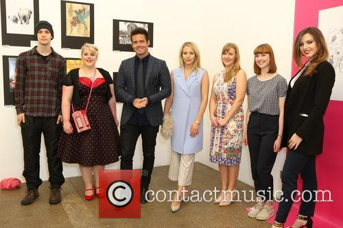 Spencer Matthews, Lydia Bright and Prince's Trust Artists 9