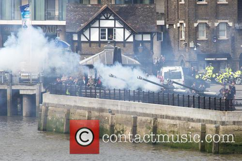 62 Gun Salute at The Tower of London