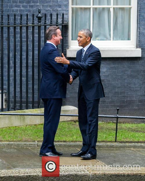 Barack Obama and David Cameron 2