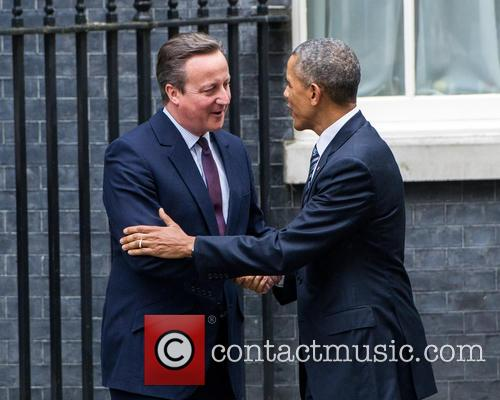 Barack Obama and David Cameron 3