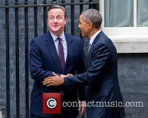 Barack Obama and David Cameron 4