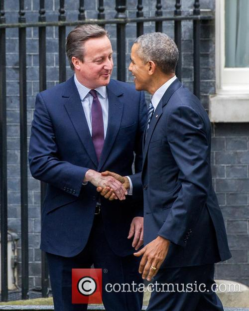Barack Obama and David Cameron 5