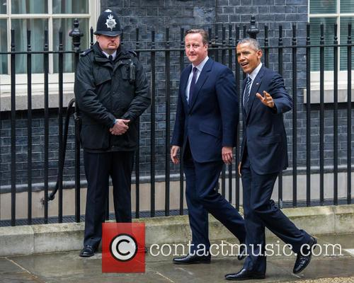 Barack Obama and David Cameron 7