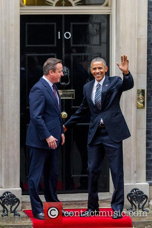 Barack Obama and David Cameron 8