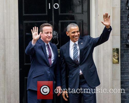 Barack Obama and David Cameron 11