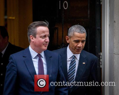 Prime Minister, David Cameron, Us President and Barack Obama 1