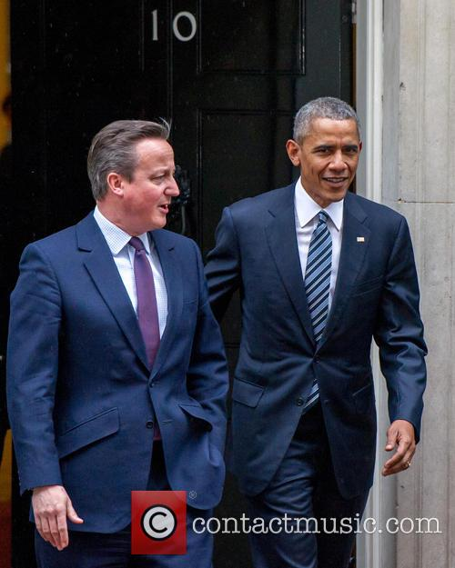 Prime Minister, David Cameron, Us President and Barack Obama 2