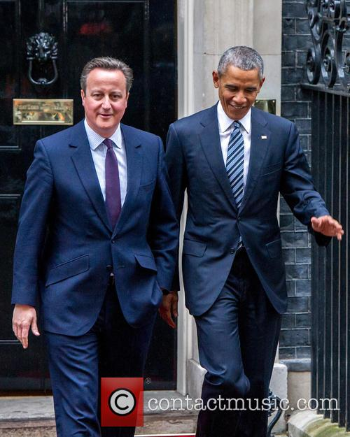 Prime Minister, David Cameron, Us President and Barack Obama 3