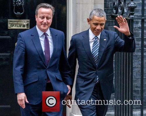 Prime Minister, David Cameron, Us President and Barack Obama 4