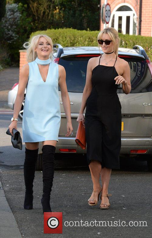 Katie Mcglynn and Catherine Tyldesley
