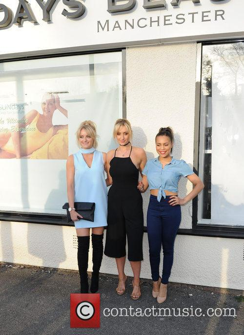 Katie Mcglynn, Catherine Tyldesley and Tisha Merry