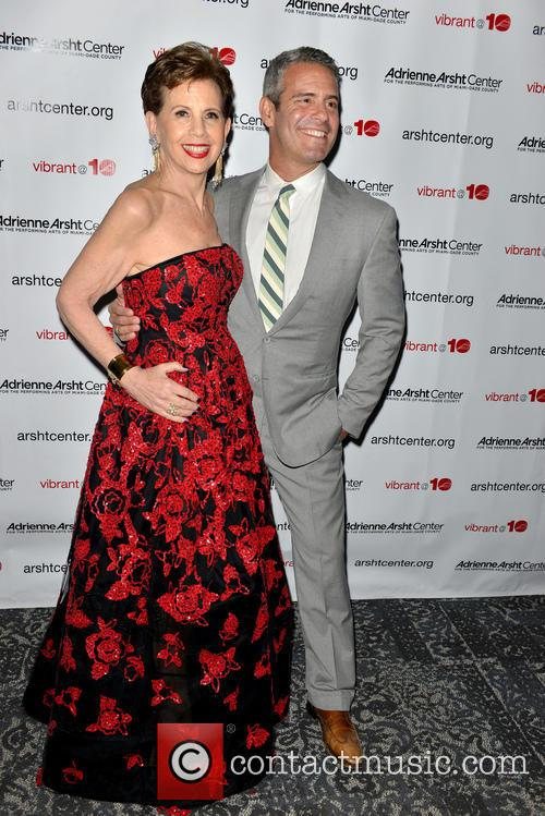 Adrienne Arsht and Andy Cohen 1