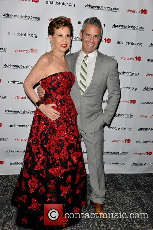 Adrienne Arsht and Andy Cohen 2