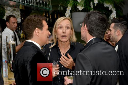 Michael Feinstein, Martina Navratilova and Guest 5