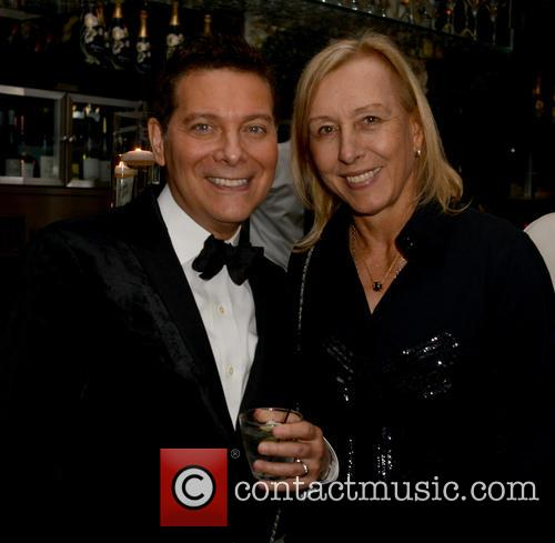 Michael Feinstein and Martina Navratilova 6
