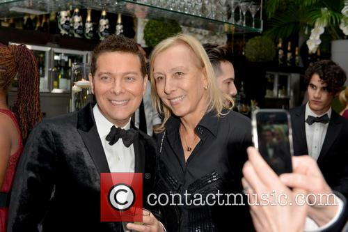 Michael Feinstein and Martina Navratilova 7