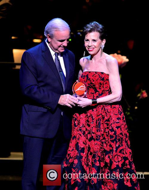 Miami-dade County's Mayor Carlos A. Gimenez and Adrienne Arsht 6