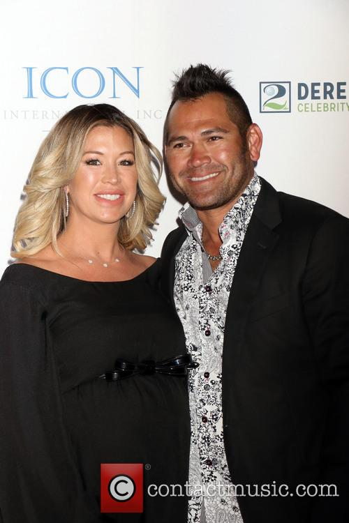 Johnny Damon and Michelle Damon
