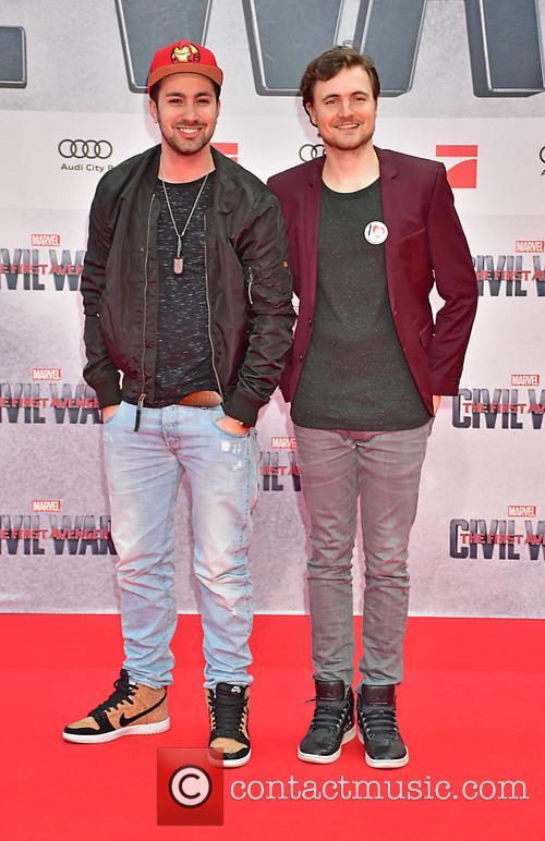 Dominik Porschen and Phil Laude 1