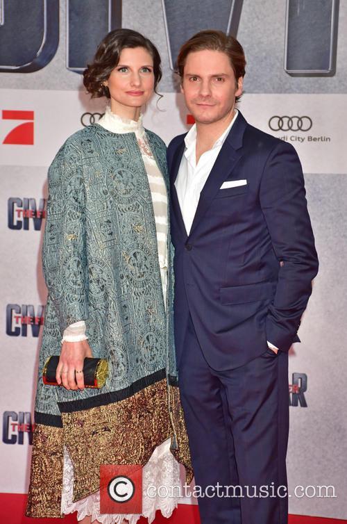 Felicitas Rombold and Daniel Bruehl 4