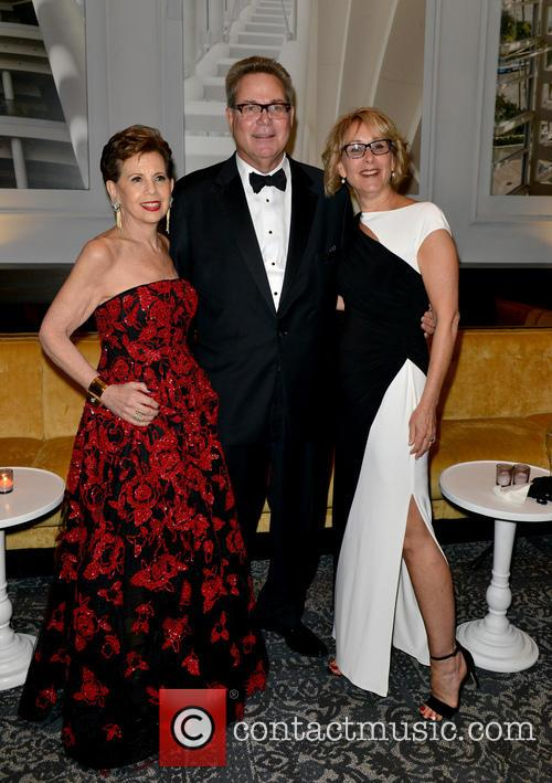 Adrienne Arsht, John Richard and Lynn Richard 8