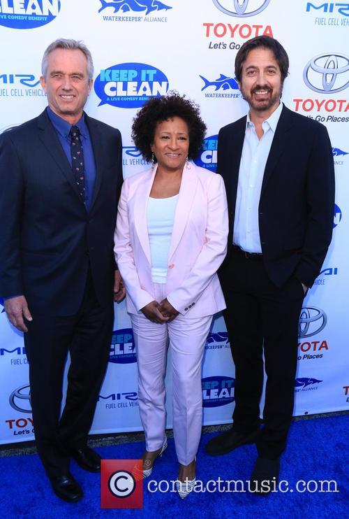 Robert F. Kennedy Jr., Wanda Sykes and Ray Romano 5