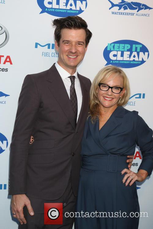 Christian Hebel and Rachael Harris 2