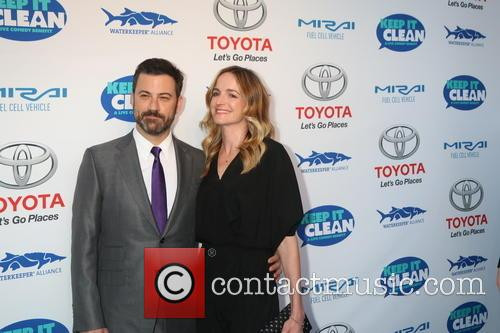 Jimmy Kimmel and Molly Mcnearney 6