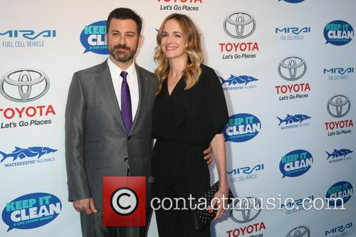 Jimmy Kimmel and Molly Mcnearney 7