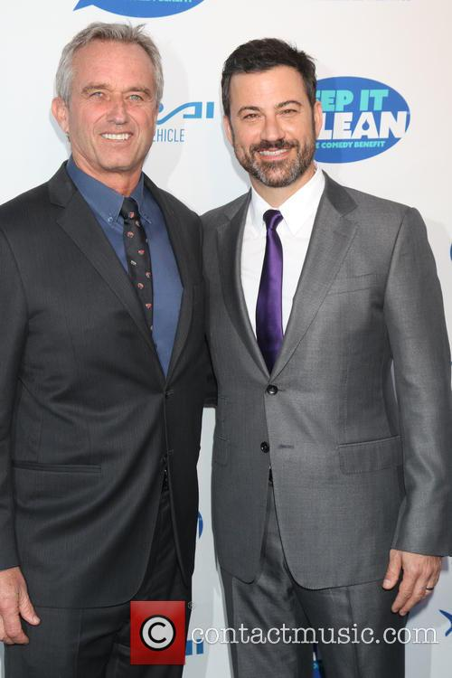 Bobby Kennedy Jr and Jimmy Kimmel 1