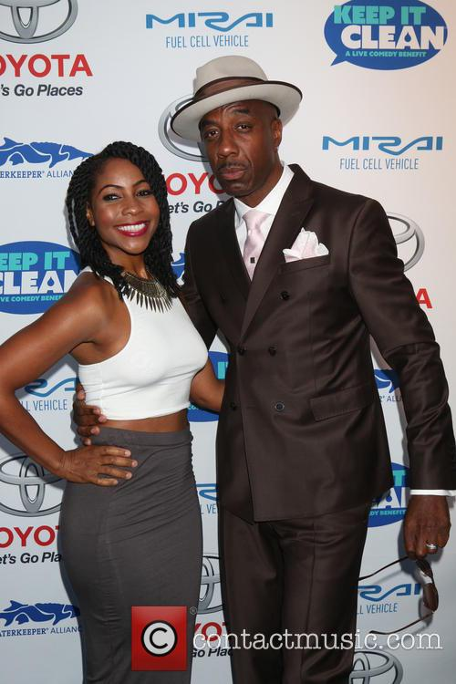 Shahidah Omar and J. B. Smoove 1
