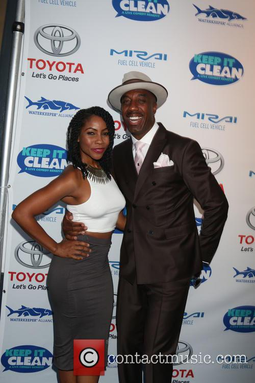 Shahidah Omar and J. B. Smoove 2
