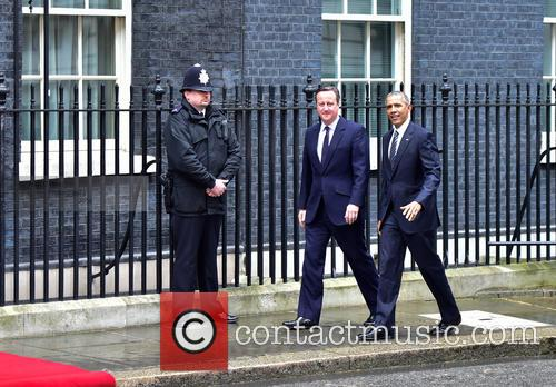 Barack Obama and David Cameron 1