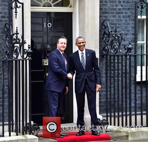 Barack Obama and David Cameron 6