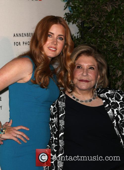 Amy Adams and Wallis Annenberg