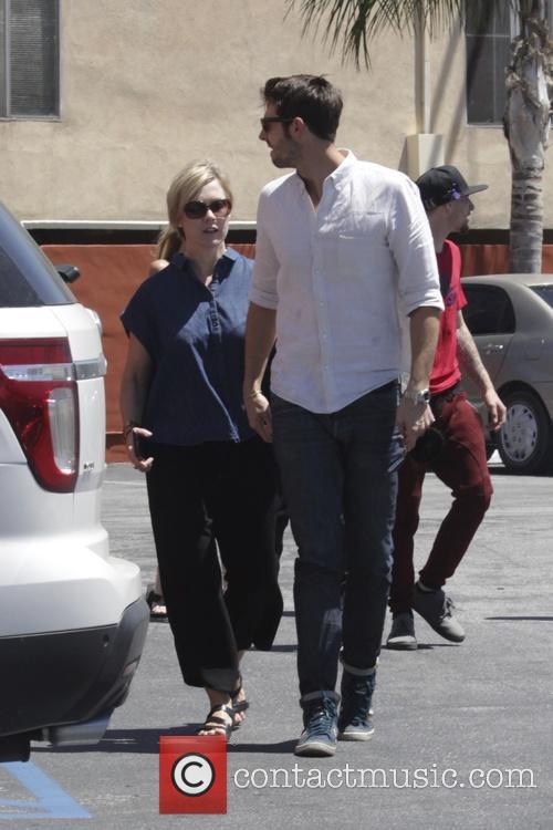 Jennie Garth and Dave Abrams 3
