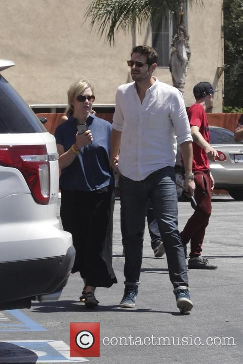 Jennie Garth and Dave Abrams 4
