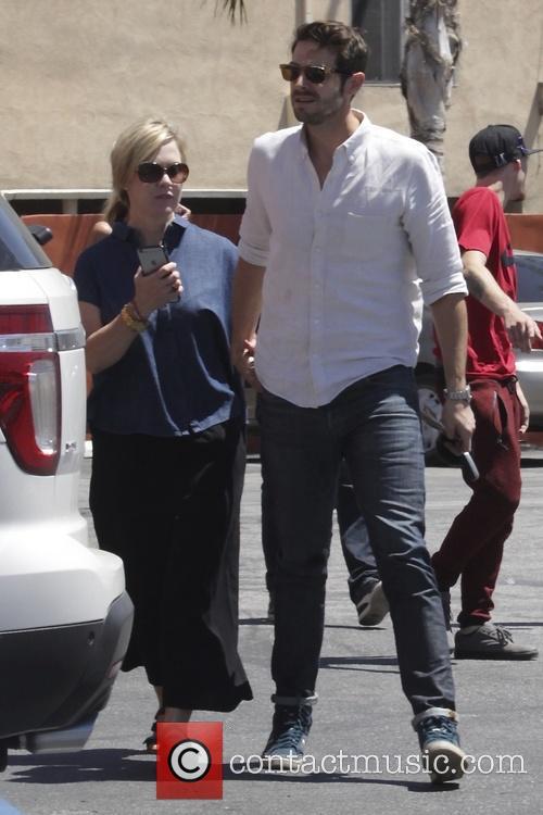 Jennie Garth and Dave Abrams 5