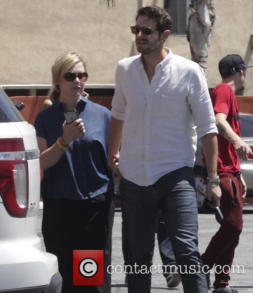 Jennie Garth and Dave Abrams 6