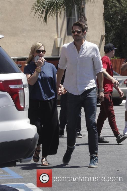 Jennie Garth and Dave Abrams 7