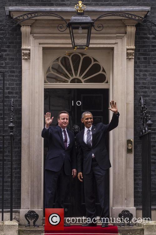 Barack Obama and David Cameron 4