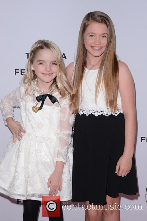 Mckenna Grace and Natalie Coughlin 2