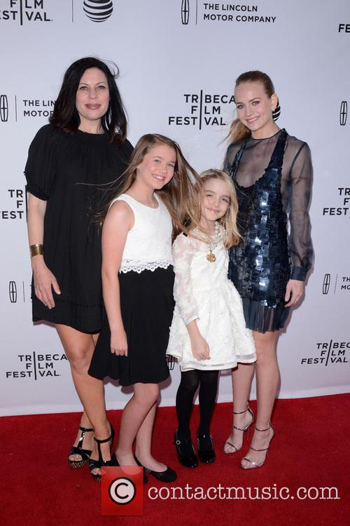 Susan Mcmartin, Natalie Coughlin, Mckenna Grace and Britt Robertson 3