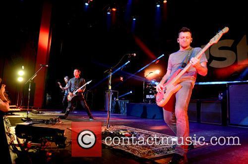 Chris Traynor, Gavin Rossdale and Corey Britz 6