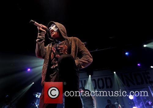 Hollywood Undead and Johnny 3 Tears 6