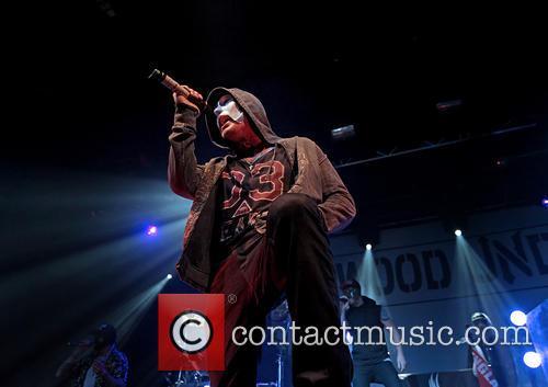 Hollywood Undead and Johnny 3 Tears 7