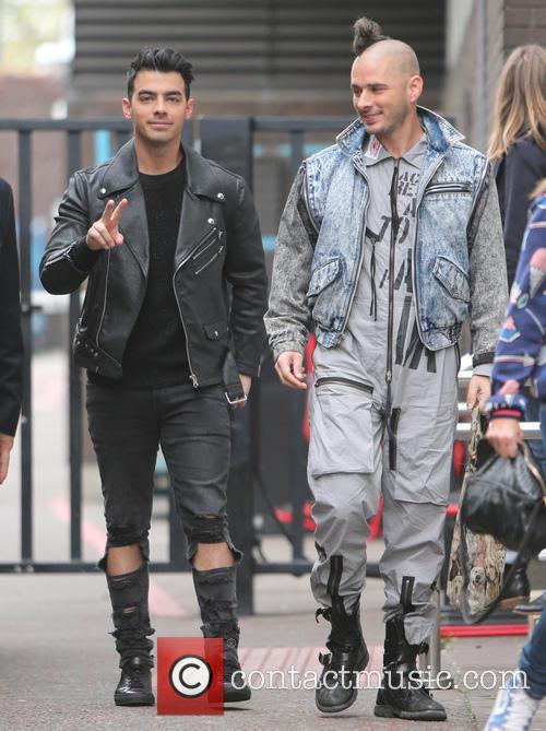 Joe Jonas and Cole Whittle 2