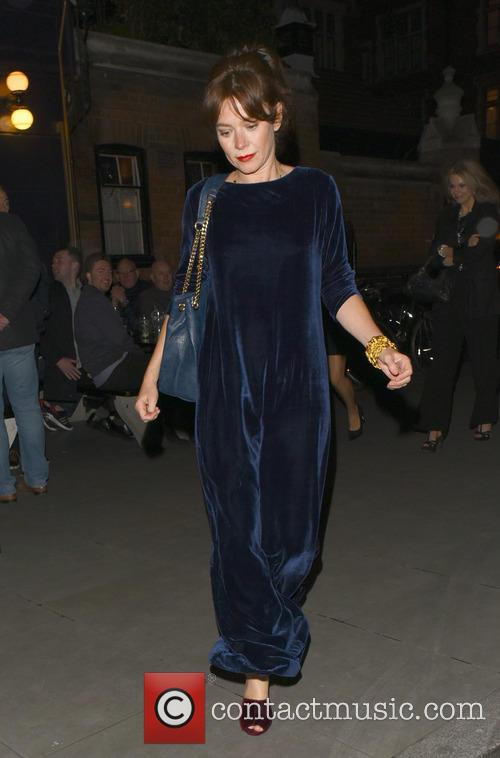 Anna Friel spotted leaving the Chiltern Firehouse