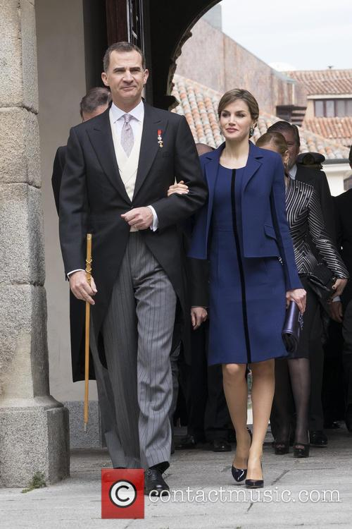 Miguel, Queen Letizia Of Spain and King Felipe Vi Of Spain 2